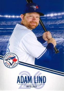 2013 Swing Into Summer Safety - Toronto Blue Jays #26 Adam Lind
