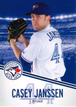 2013 Swing Into Summer Safety - Toronto Blue Jays #44 Casey Janssen