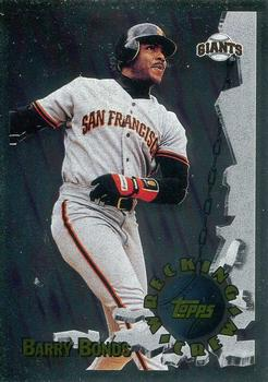 1996 Topps - Wrecking Crew #WC3 Barry Bonds Front