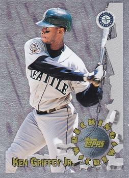 1996 Topps - Wrecking Crew #WC9 Ken Griffey Jr. Front