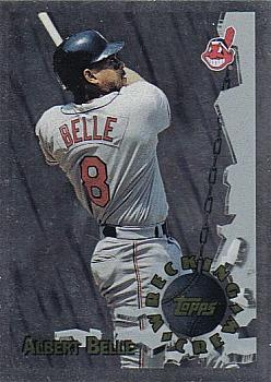 1996 Topps - Wrecking Crew #WC2 Albert Belle Front