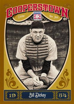 2013 Panini Cooperstown #36 Bill Dickey Front