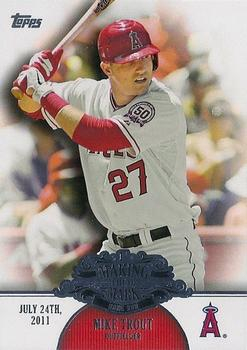 2013 Topps - Making Their Mark #MM-2 Mike Trout Front