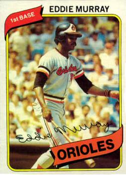 1980 Topps #160 Eddie Murray Front