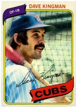 1980 Topps #240 Dave Kingman Front