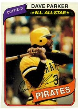1980 Topps #310 Dave Parker Front