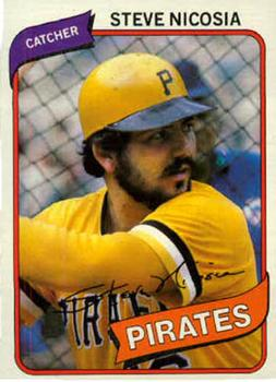 1980 Topps #519 Steve Nicosia Front