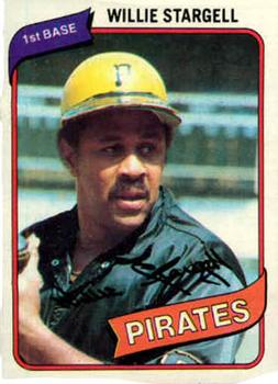 1980 Topps #610 Willie Stargell Front
