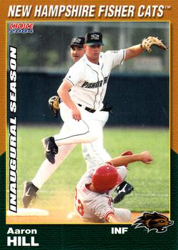 Aaron Hill nh fisher cats