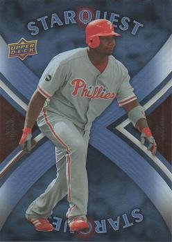2008 Upper Deck - Starquest Rare #SQ-8 Ryan Howard Front