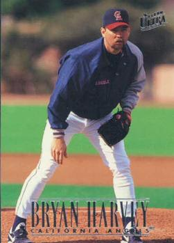 1996 Ultra #326 Bryan Harvey Front