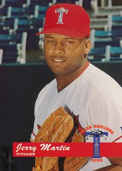 1995 Tulsa Drillers #12 Jerry Martin Front
