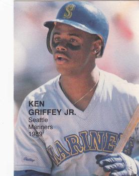 1989 Pacific Cards & Comics Baseball's Best Four (unlicensed) #3 Ken Griffey Jr. Front