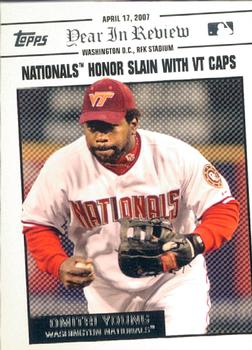 2008 Topps - Year in Review #YR17 Dmitri Young Front