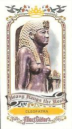 2013 Topps Allen & Ginter - Mini Heavy Hangs the Head #HHH-CLE Cleopatra Front