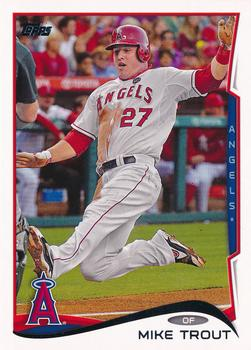 2014 Topps #1a Mike Trout Front