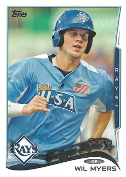 2014 Topps #110 Wil Myers Front