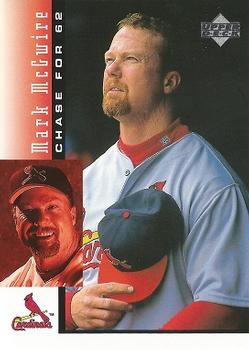 1998 Upper Deck Mark McGwire's Chase for 62 #2 Mark McGwire Front