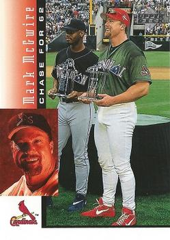 1998 Upper Deck Mark McGwire's Chase for 62 #4 Mark McGwire Front