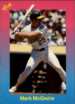 1989 Classic Travel #4 Mark McGwire Front