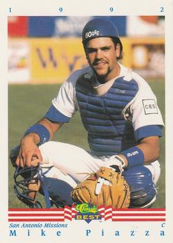 1992 Classic Best #345 Mike Piazza Front