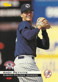 1994 Classic #28 Andy Pettitte Front