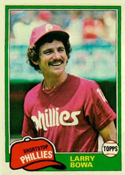 1981 Topps #120 Larry Bowa Front