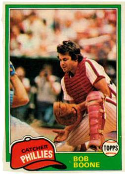 1981 Topps #290 Bob Boone Front