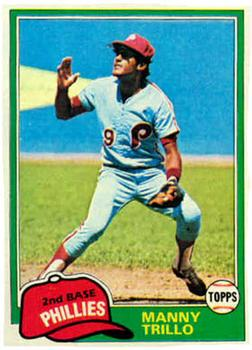 1981 Topps #470 Manny Trillo Front