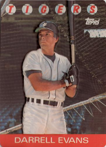 Darrell Evans Gallery The Trading Card Database