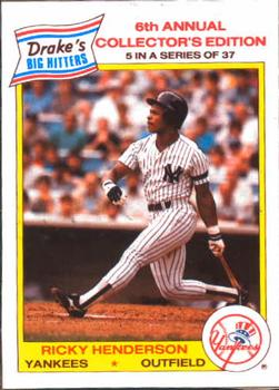 The Trading Card Database Rickey Henderson Gallery