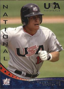 2006-07 USA Baseball Box Set  #12 Tim Federowicz Front