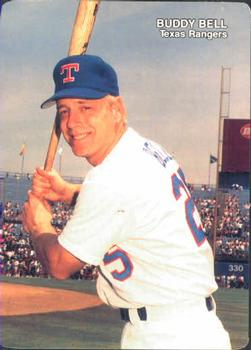 1989 Mother's Cookies Texas Rangers #9 Buddy Bell Front