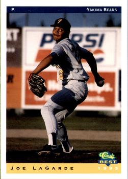 1993 Classic Best Yakima Bears #16 Joe LaGarde Front