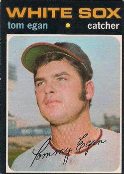 1971 O-Pee-Chee #537 Tom Egan Front - 8664-494467Fr