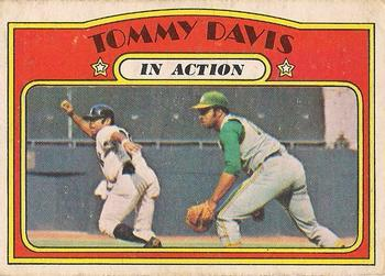 1972 O-Pee-Chee #42 Tommy Davis Front