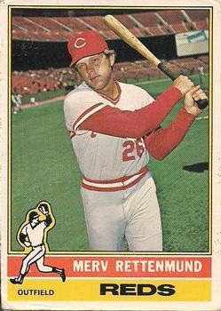 1976 O-Pee-Chee #283 Merv Rettenmund Front