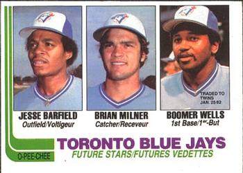 Jesse Barfield, Brian Milner and Boomer Wells