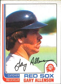 1982 O-Pee-Chee #273 Gary Allenson Front