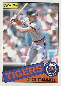 1985 O-Pee-Chee #181 Alan Trammell Front