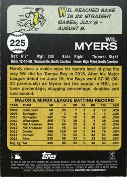 2014 Topps Archives #225 Wil Myers Back