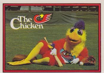 1982 Donruss #531a San Diego Chicken Front