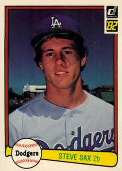 Steve Sax Gallery The Trading Card Database