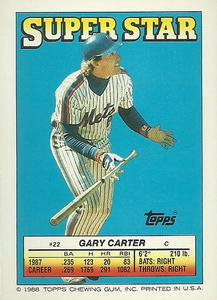 1988 Topps Stickers #62 / 295 Jamie Moyer / Mike Pagliarulo / Gary Carter Back
