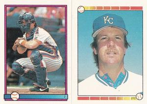 1989 Topps Stickers #2 Gary Carter Front