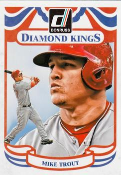 2014 Donruss #2 Mike Trout Front