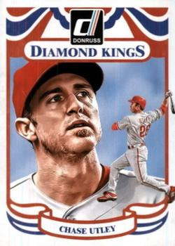 2014 Donruss #19 Chase Utley Front