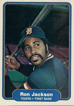 1982 Fleer #269 Ron Jackson Front