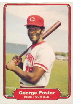 1982 Fleer #66 George Foster Front