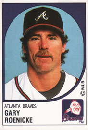 Gary Roenicke Gallery The Trading Card Database